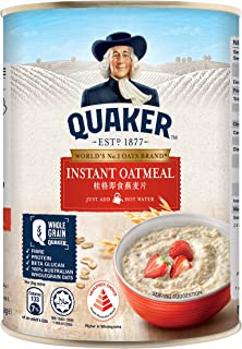 Quaker Instant Oatmeal Can,