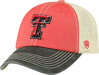 NCAA Relaxed Fit Adjustable Mesh Offroad Hat Team Color Icon