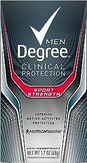 Degree Men Clinical Antiperspirant Deodorant, Sport Strength, 1.7 oz (Pack of 2)