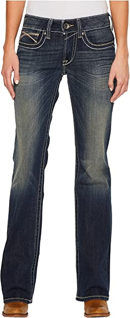 Ariat - R.E.A.L. Bootcut Harlow Jeans in Iron Rose