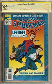 Amazing Spider-Man #388 CBCS (not CGC) 9.4 Signed Mark Bagley