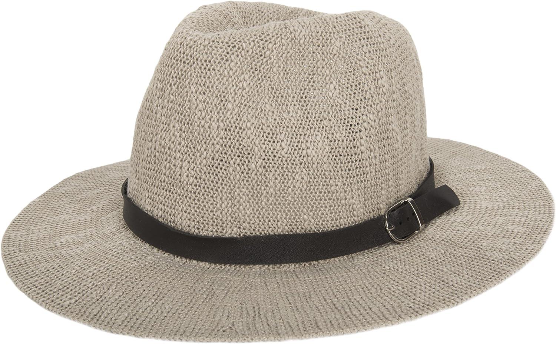 Aerusi Women's Manhattan Floppy Straw Hat