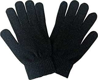 Mens Thin Lightweight Magic Winter Warm Thermal Wool Gloves for Cold Weather
