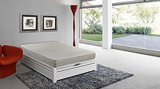 Colchón espuma HR, 150 x 190 x 16 cm, confort en dos caras, reversible, antiácaros - SmartCell (Otras medidas disponibles)