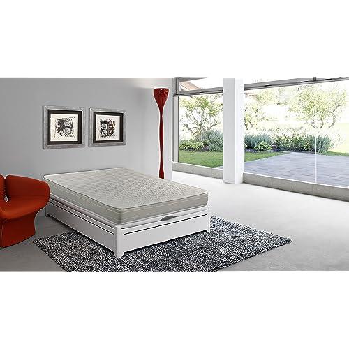 Colchón espuma HR, 90 x 190 x 16 cm, confort en dos caras, reversible, antiácaros - SmartCell (Otras medidas disponibles)