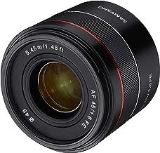 Samyang AF 45 mm F1.8 Sony FE Full Format Lens for Sony FE Cameras