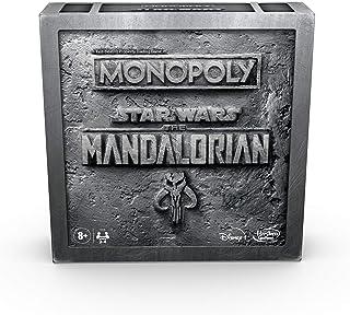 Hasbro Monopoly Star Wars The Mandalorian Edition Board Game,F1276