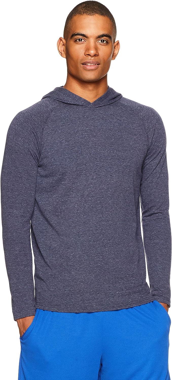 Essentials Men/'s Performance Hooded Shirt
