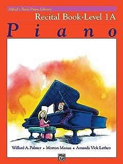 free piano recital sheet music