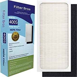 Genuine Filter Bros Replacement Filter for Blueair 400 Classic Series (402, 403, 405, 410, 450E, 455EB, 480i) HEPA Particle Filters Dander, Dust, Odors for Fresh Air and a Blue Sky (SmokeStop)