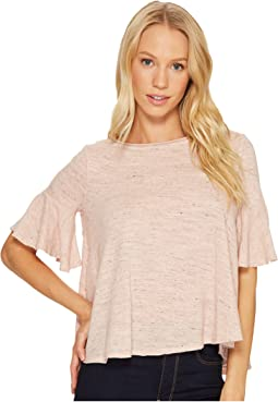 Nepps Jersey Easy Flounce Top