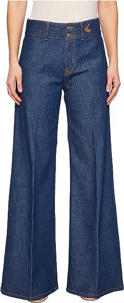 Vivienne Westwood Apollo Flare Jeans in Blue Denim