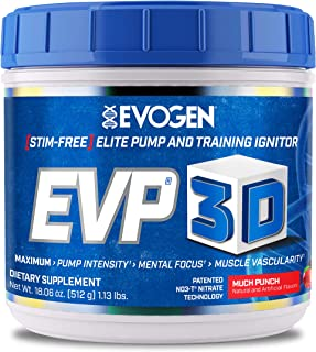 Evogen Nutrition - EVP 3D Much Punch 40 porties - Pre Workout - Sportsupplement