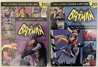 Batman: Complete Second Season - Part 1 & Part 2 Classic TV Series featuring Batman, Robin and Batgirl & Catwoman