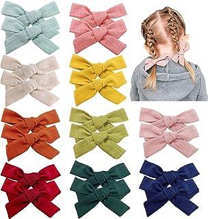 إكسسوارات مشابك شعر للبنات الصغار والرضع والأطفال الصغار إيلم (الخردال)