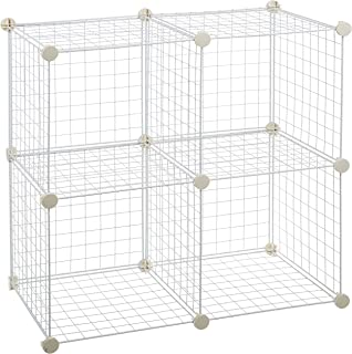 Best wire mesh cubby shelf with wood top Reviews