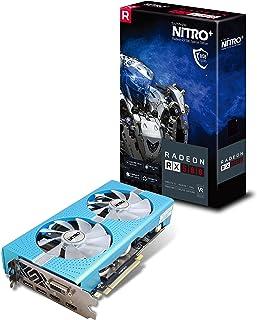 Sapphire Radeon Nitro+ RX 580 8GB GDDR5 Dual HDMI / DVI-D / Dual DP w/ Backplate Special Edition (UEFI) PCI-E Graphic Cards 11265-21-20G (Renewed)