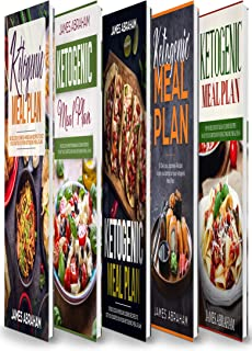 Ketogenic Meal Plan: 5 Books in 1- Chinese-American Cuisine recipes+ Mediterranean Cuisine recipes+ Mexican Cuisine recipes+ Japanese Cuisine recipes+ Italian Cuisine recipes