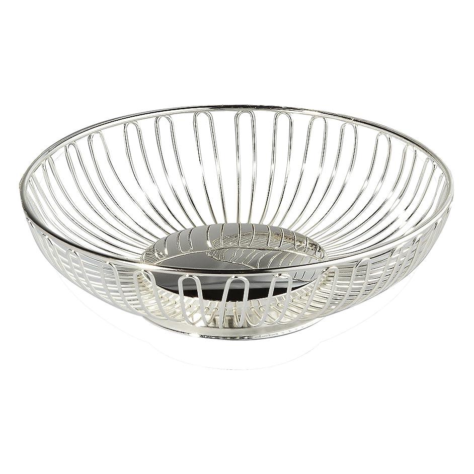 Elegance Silver Silver Oval Wirebasket