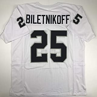 Unsigned Fred Biletnikoff Oakland White Custom Stitched Football Jersey Size Men's XL New No Brands/Logos