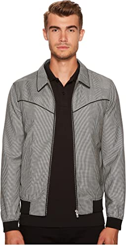 The Kooples - Mixed Fabric Jacket