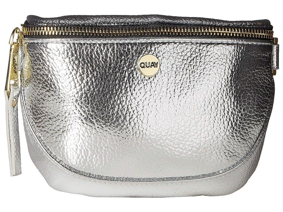 QUAY AUSTRALIA Bum Bag (Silver/Gold) Handbags