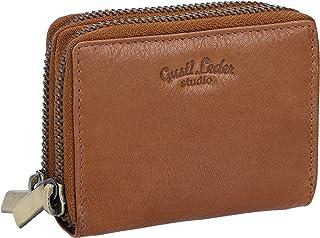 Gusti - Portafoglio in pelle – Dillon, porta carte di credito, piccola donna, uomo e in pelle