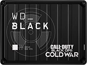 WD_Black 2TB P10 Game Drive Call of Duty Special Edition: Black Ops Cold War, Portable External Hard Drive (Playstation, X...