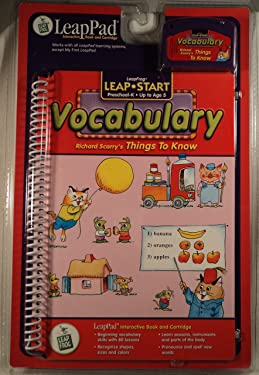 Leap Start Vocabulary: Richard Scarry's Things to Know (with Cartridge) (Leap Start)