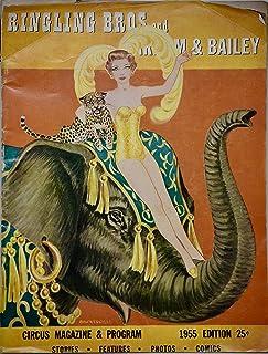 1955 - Ringling Bros. and Barnum & Bailey Circus Vintage Program - Rare - OOP