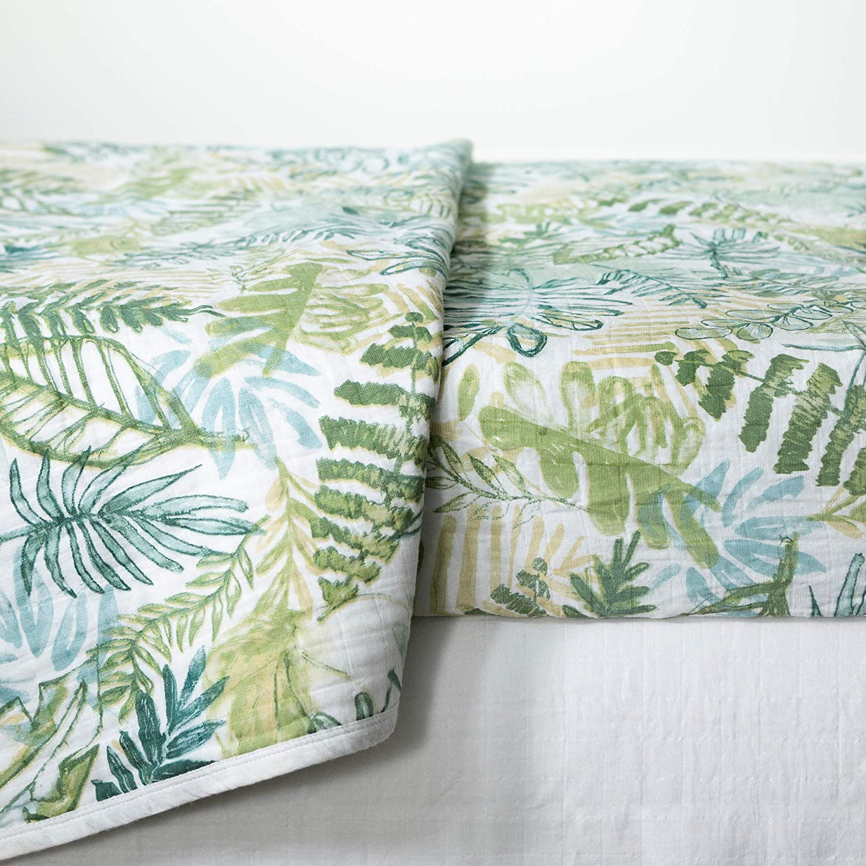 DreamIt 3-Piece Muslin Baby Bedding Set-Crib-Green-South Shore