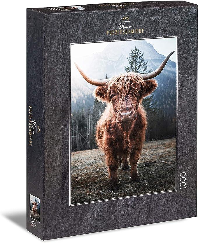 47 opinioni per Ulmer Puzzleschmiede- Puzzle Bestiame delle Highland- Puzzle 1000 Pezzi- Forte