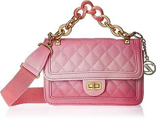 Zeneve London Womens Satchel Bag, Pink - 1197814900