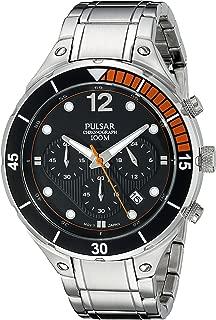Pulsar Men's PT3635 Analog Display Analog Quartz Silver Watch