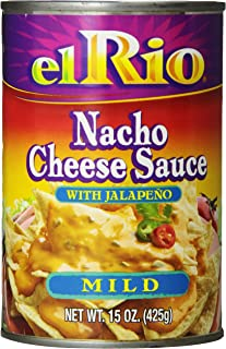 El Rio Mild Nacho Cheese Sauce, 15-Ounce Can (Pack of 12)