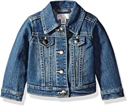CIRREOUS Infant Baby Girls Clothes Fashion Tiny BOSS Print Denim Coat Unisex Spring Clothes Baby Denim Jacket