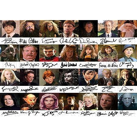 Amazon De The Signature Shop Harry Potter Pp Von 28 Cast Members Daniel Radcliffe Emma Watson
