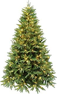 HOLIDAY STUFF Evergreen Valley Fraser Fir Christmas Tree (6ft Pre-lit)