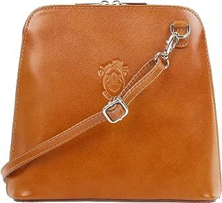 Italian Smooth Leather Small Cross Body or Shoulder Bag Handbag