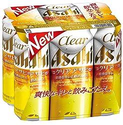 アサヒ クリアアサヒ 500ml×6缶パック