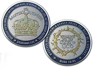 Theology of Business Christian Business Challenge Coin