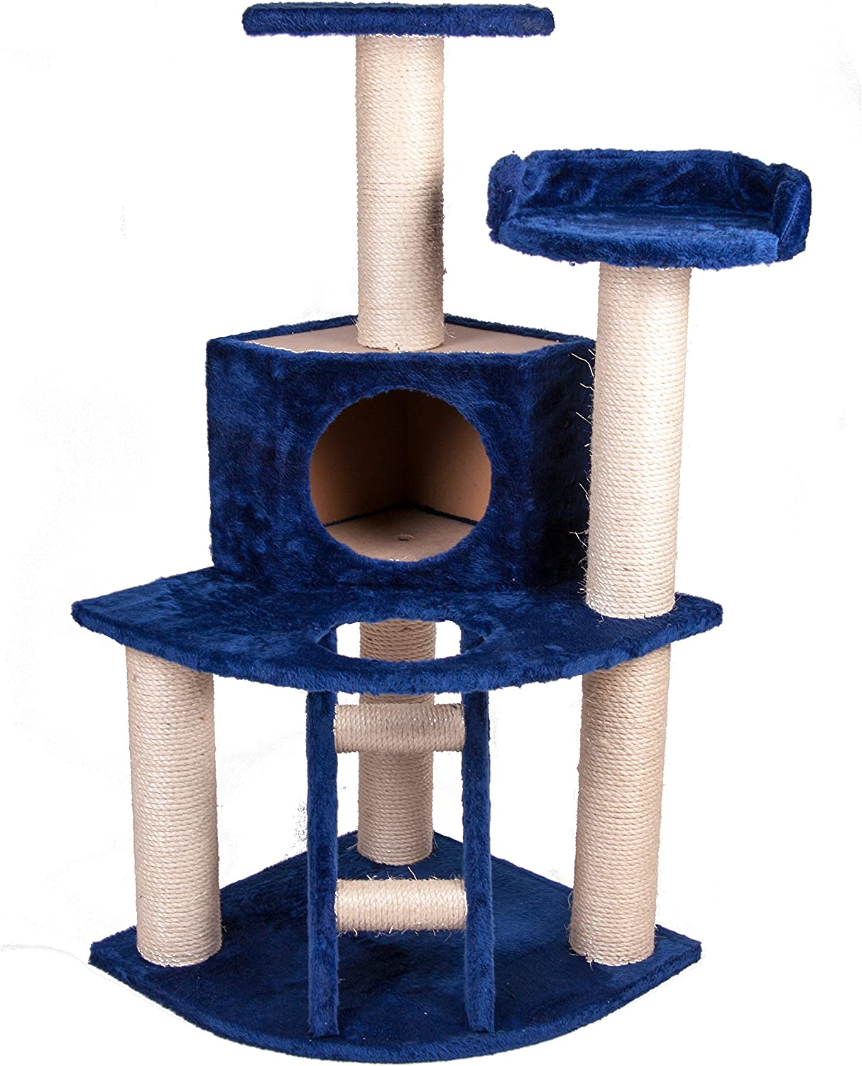 GoGo Pet Products Cat Tree House, 3.75Inch