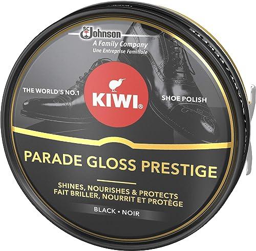 KIWI Parade Gloss Prestige Cirage en pot métallique pour chaussures, brillance parfaite assurée pour vos chaussures e...