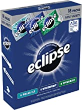 ECLIPSE Sugar Free Mint Chewing Gum Variety Pack, 18-Count Box