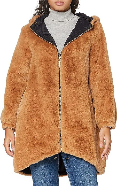 Parka reversible hooded soft donna trussardi jeans 56S005371T002804