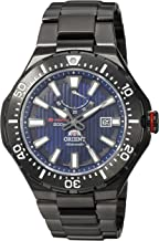 Orient Men's M-Force Delta Japanese-Automatic Diving Watch with Stainless-Steel Strap, Silver, 24 (Model: SEL07001D0)