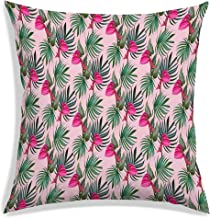 RADANYA Flower Tropical Leaves Pillow Case Home Decoration Square Sofa Bed Waist Throw Cushion Cover-Insert not Included