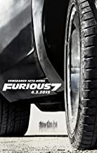 Fast and Furious 7 Movie Poster (24 x 36