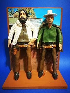 "Figurita - Action Figures Bud Spencer y Terence Hill película""Dios perdona. ¡Yo no!"""