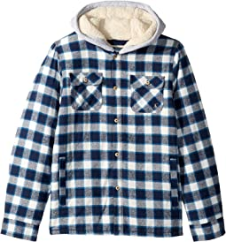 Hooded Shirt Jacket (Toddler/Little Kids/Big Kids)